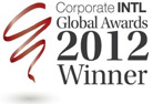 CORPORATE INTL GLOBAL AWARDS, 2012