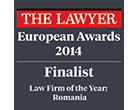 THE LAWYER EUROPEAN AWARDS, 2014