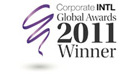 Corporate INTL Global Awards 2011 Winner
