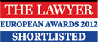 THE LAWYER EUROPEAN AWARDS, 2012