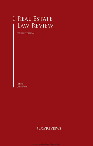 The Real Estate Law Review